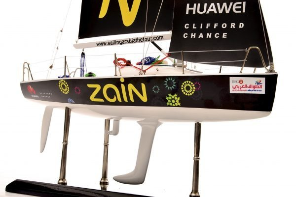 Farr Racing Yacht Custom Model