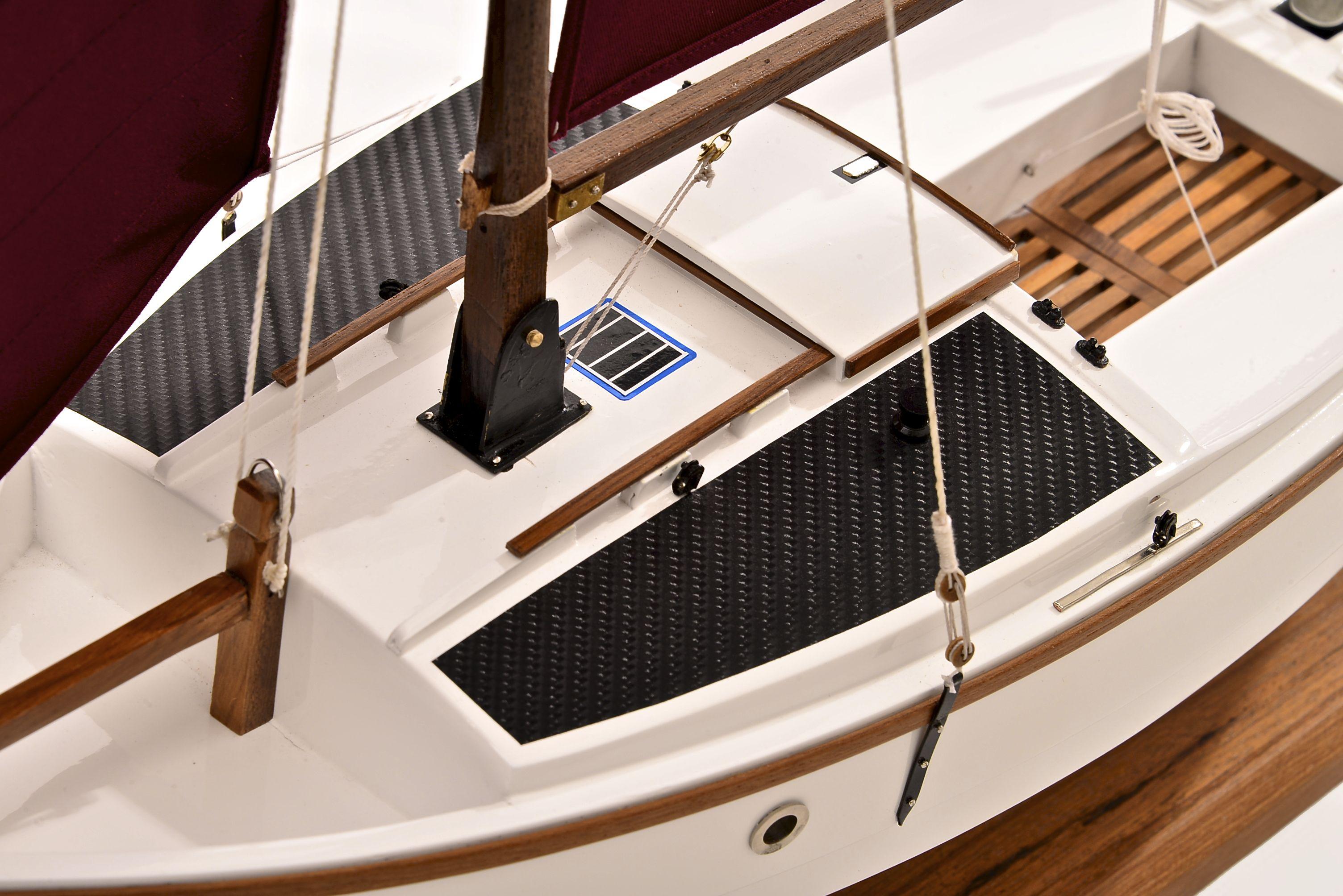 Shrimping Model Boat
