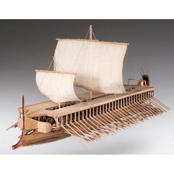 1882-11338-Greek-Trireme-Ship-Model-Kit-Dusek-D004