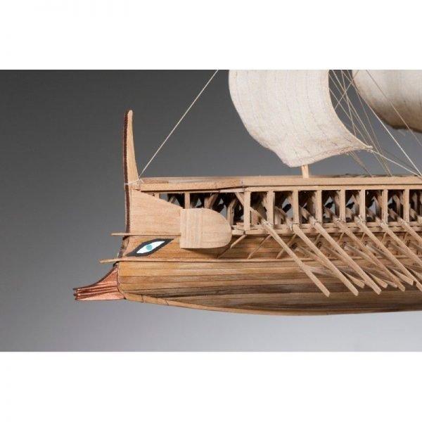 1882-11339-Greek-Trireme-Ship-Model-Kit-Dusek-D004
