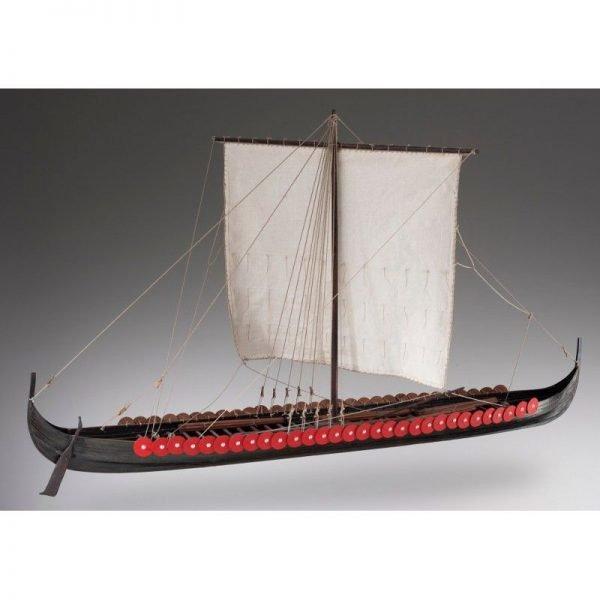 Viking Longship Model Boat Kit Scale 1 to 35 - Dusek (D005)