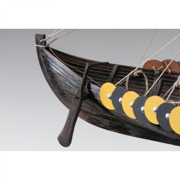 1884-11347-Viking-Gokstad-Model-Ship-Kit-Dusek-D006
