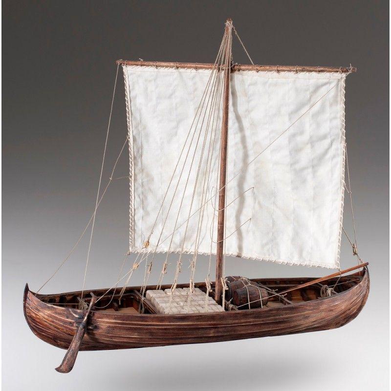 1885-11350-Viking-Knarr-Ship-Model-Kit-Dusek-D007