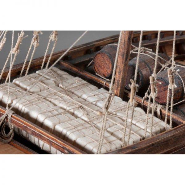 1885-11351-Viking-Knarr-Ship-Model-Kit-Dusek-D007