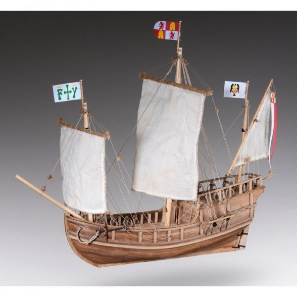 1888-11363-Pinta-Model-Ship-Kit-Dusek-D011