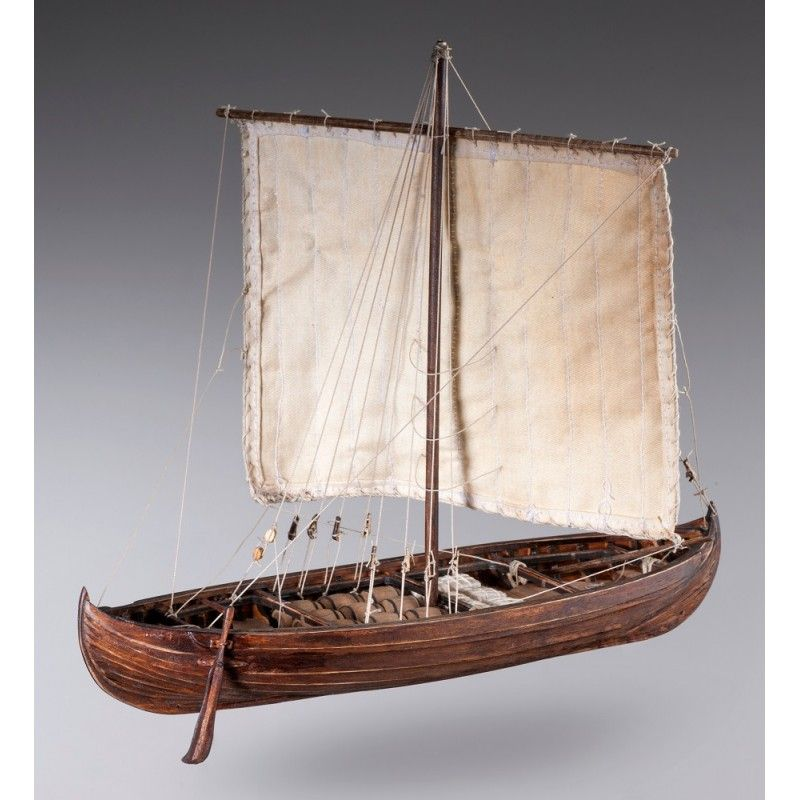 1891-11371-Viking-Knarr-Model-Boat-Kit-Dusek-D013