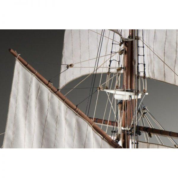 1897-11398-La-Belle-Poule-Ship-Model-Kit-Dusek-D021