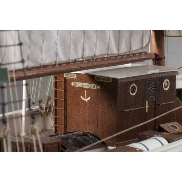 1897-11399-La-Belle-Poule-Ship-Model-Kit-Dusek-D021