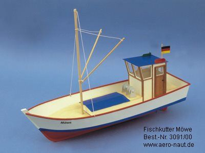 1908-11419-Mowe-2-Model-Boat-Kit-Aeronaut-AN309100