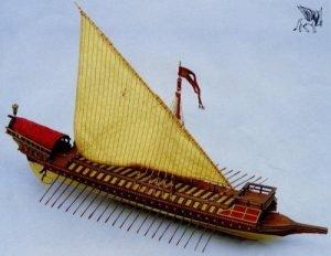 La Capita Di Ventia Model Ship Kit - Aeronaut (AN3255/03)