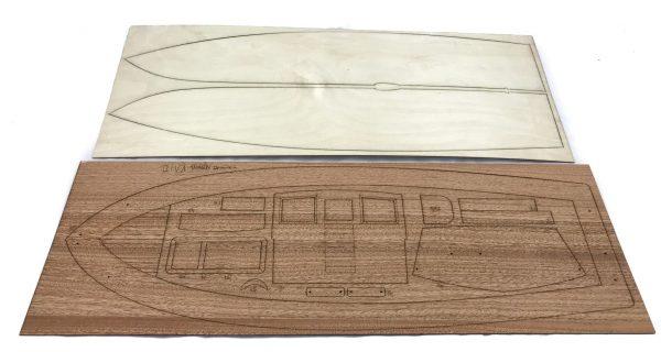 Diva Cabin Cruiser Ship Model Kit - Aeronaut (AN3093/00)