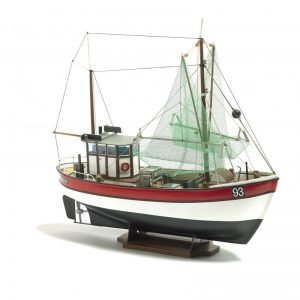 1926-11455-Rainbow-Fishing-Cutter-Model-Ship-Kit-Billing-Boats-B201