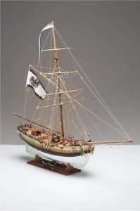 1931-11460-King-of-Prussia-Ship-Model-Kit-Corel-SM62
