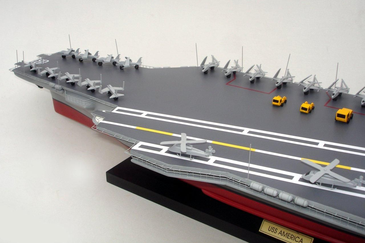 aircraft carrier uss america cv