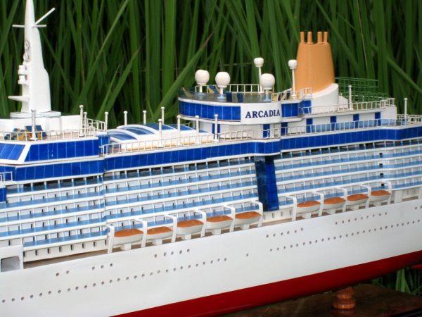 Arcadia Wooden Model Boat - GN (CS0028P)