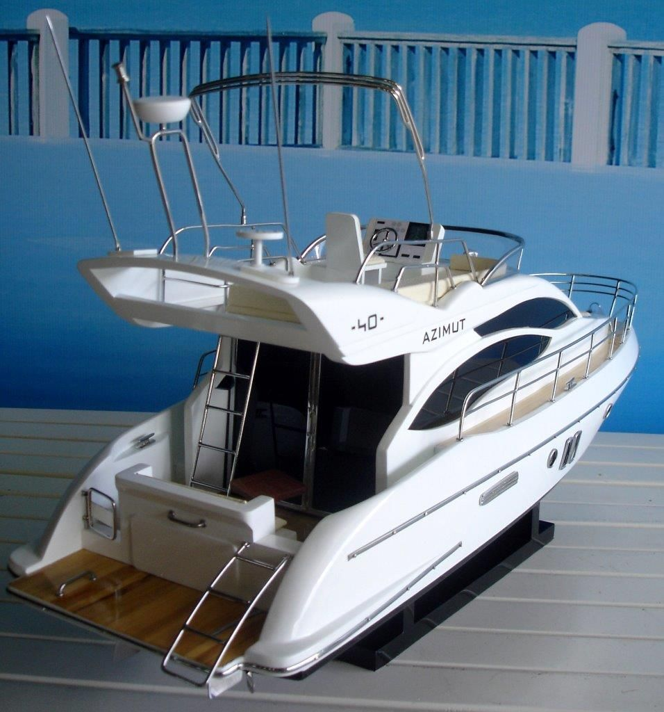 1960-11594-Azimut-40-wooden-model-ship