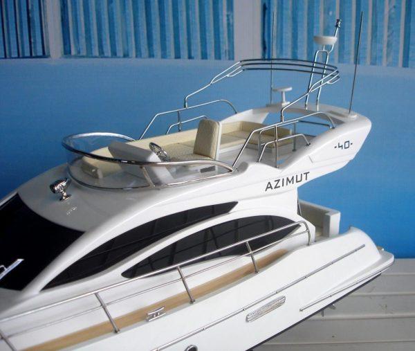 1960-11600-Azimut-40-wooden-model-ship