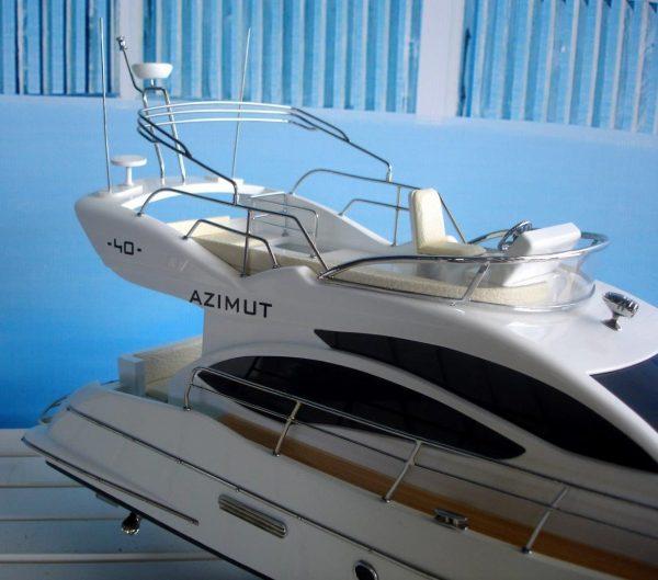 1960-11603-Azimut-40-wooden-model-ship