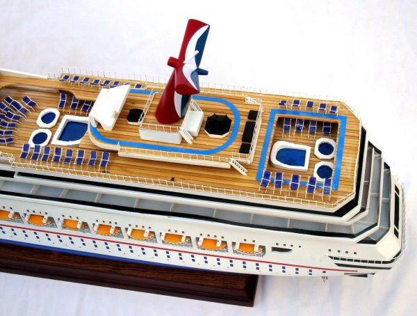 1963-11613-Carnival-Liberty-wooden-model-boat