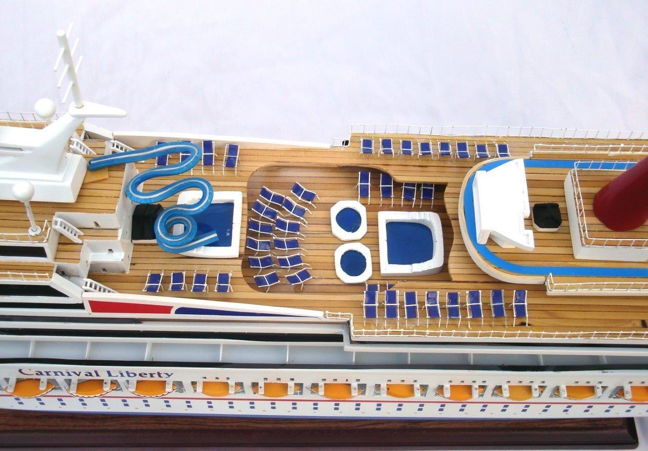 1963-11614-Carnival-Liberty-wooden-model-boat