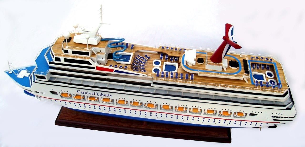 1963-11616-Carnival-Liberty-wooden-model-boat