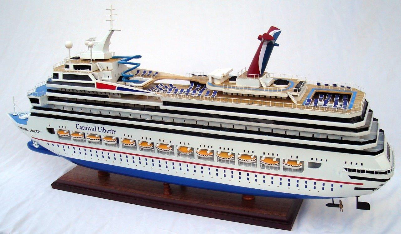 1963-11617-Carnival-Liberty-wooden-model-boat