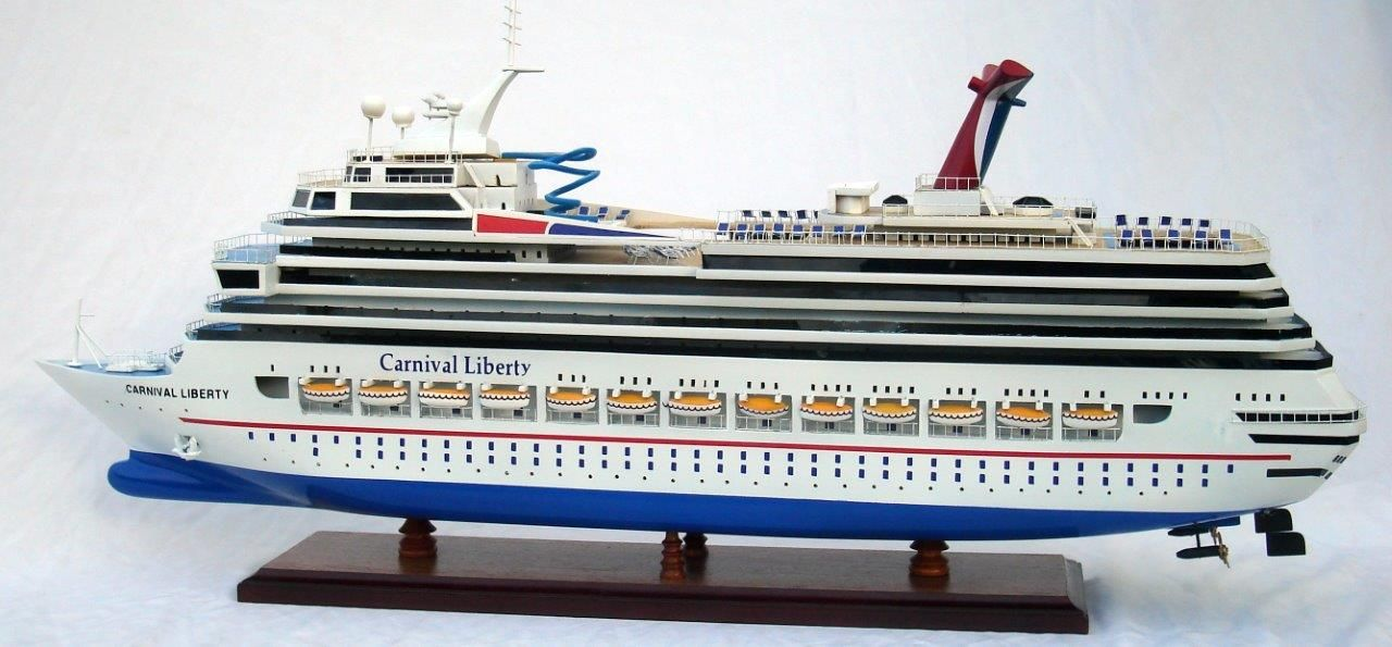 1963-11618-Carnival-Liberty-wooden-model-boat