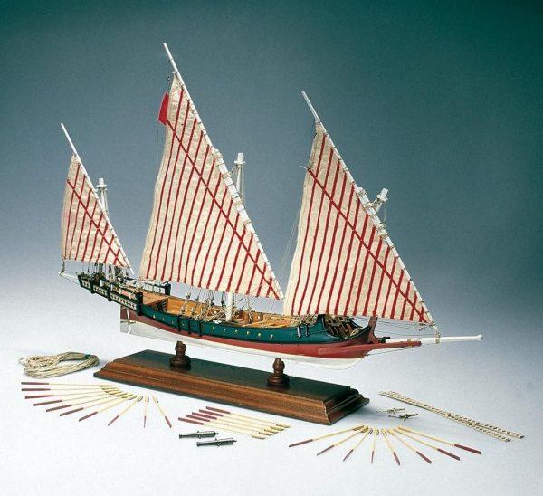 1970-11627-Greek-Galley-Ship-Model-Kit-Amati-1419