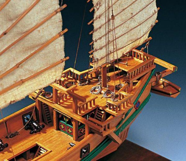 Chinese Pirate Junk Boat Kit - Amati (1421)