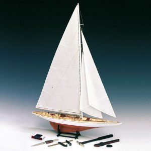 1980-11644-Rainbow-Yacht-Scale-180-Model-Boat-Kit-Amati-170011