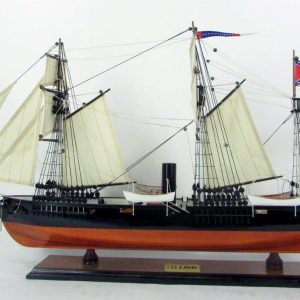 1988-11690-Css-Alabama-ship-model