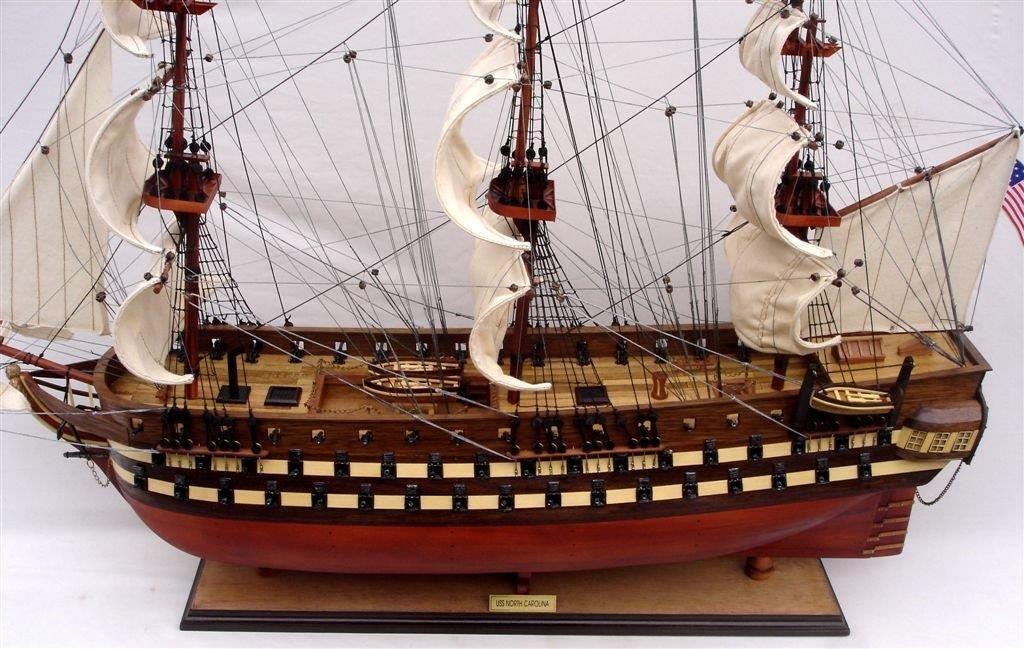 2012-11829-Uss-North-Carolia-model-boat