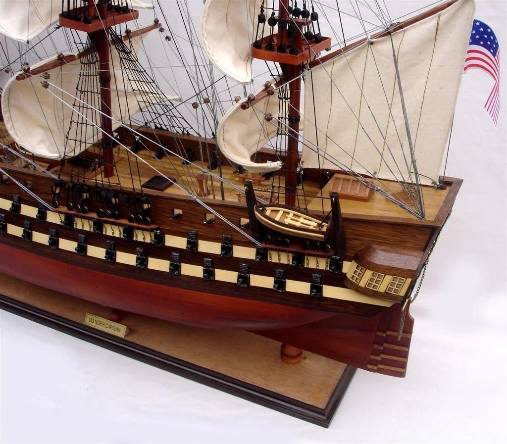 2012-11837-Uss-North-Carolia-model-boat