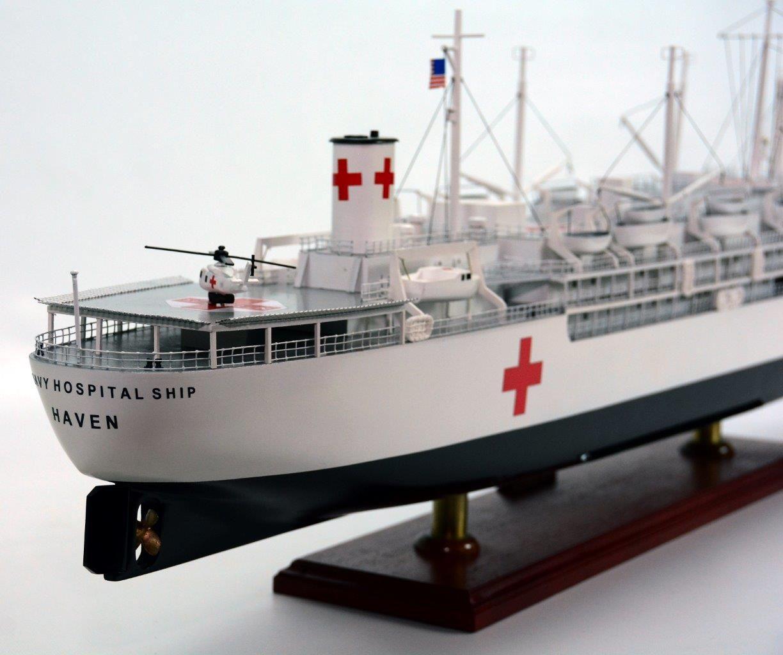 USS Haven Ship Model - GN (BT0052P)