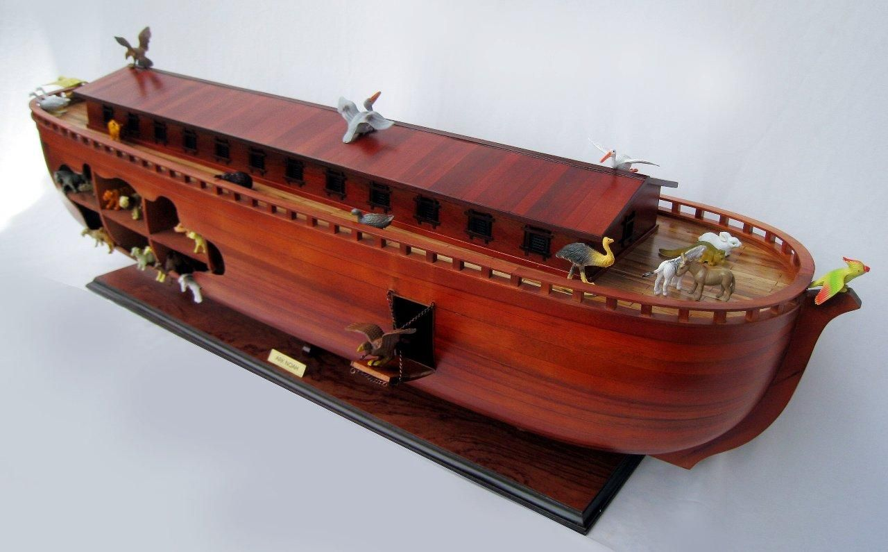 2043-12570-Noahs-Ark-Model-Boat