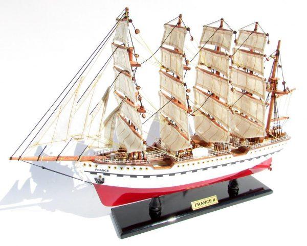 2045-12080-France-II-Wooden-Model-Ship