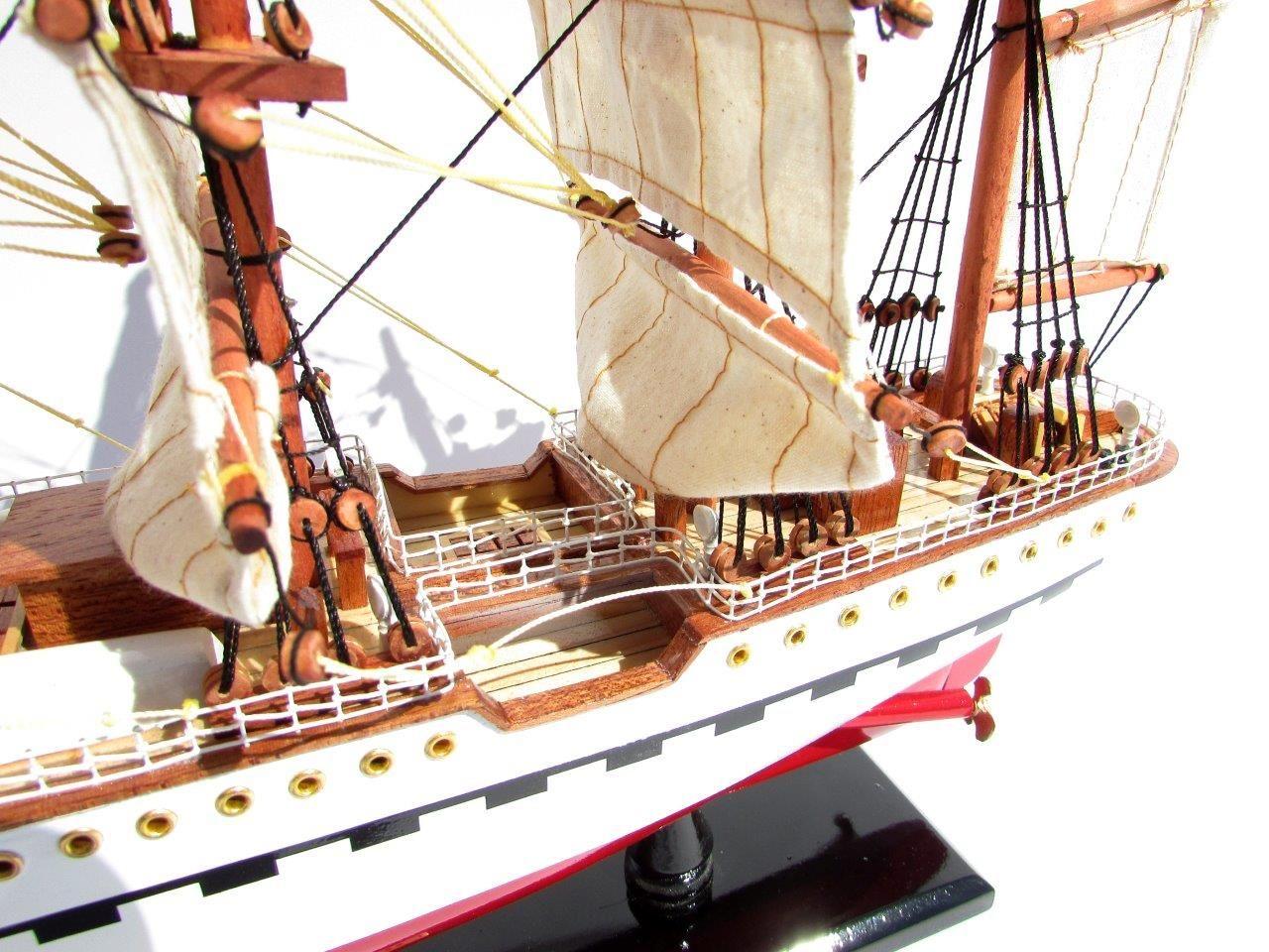 2045-12082-France-II-Wooden-Model-Ship