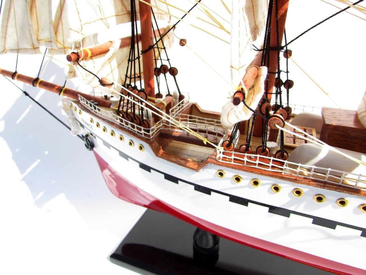 2045-12084-France-II-Wooden-Model-Ship