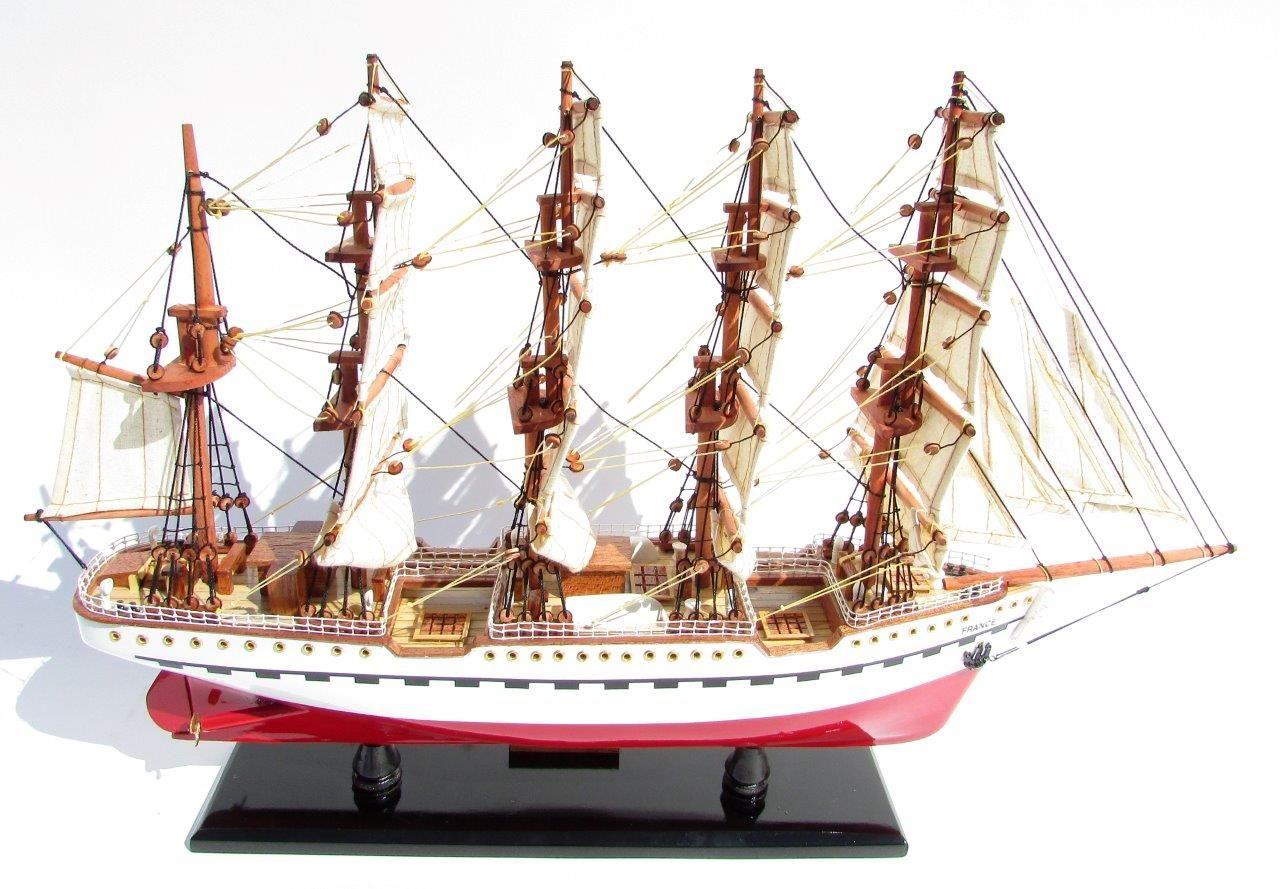2045-12087-France-II-Wooden-Model-Ship
