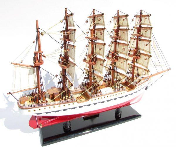 2045-12088-France-II-Wooden-Model-Ship