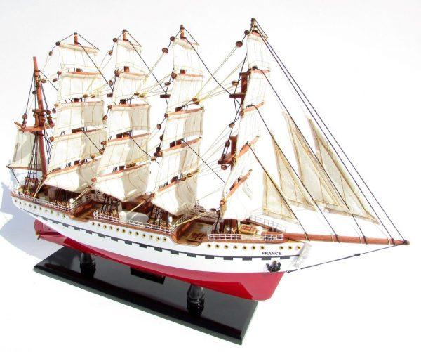 2045-12089-France-II-Wooden-Model-Ship