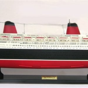 SS France Special Edition Wooden Model Boat - GN (CS0007SE-80)