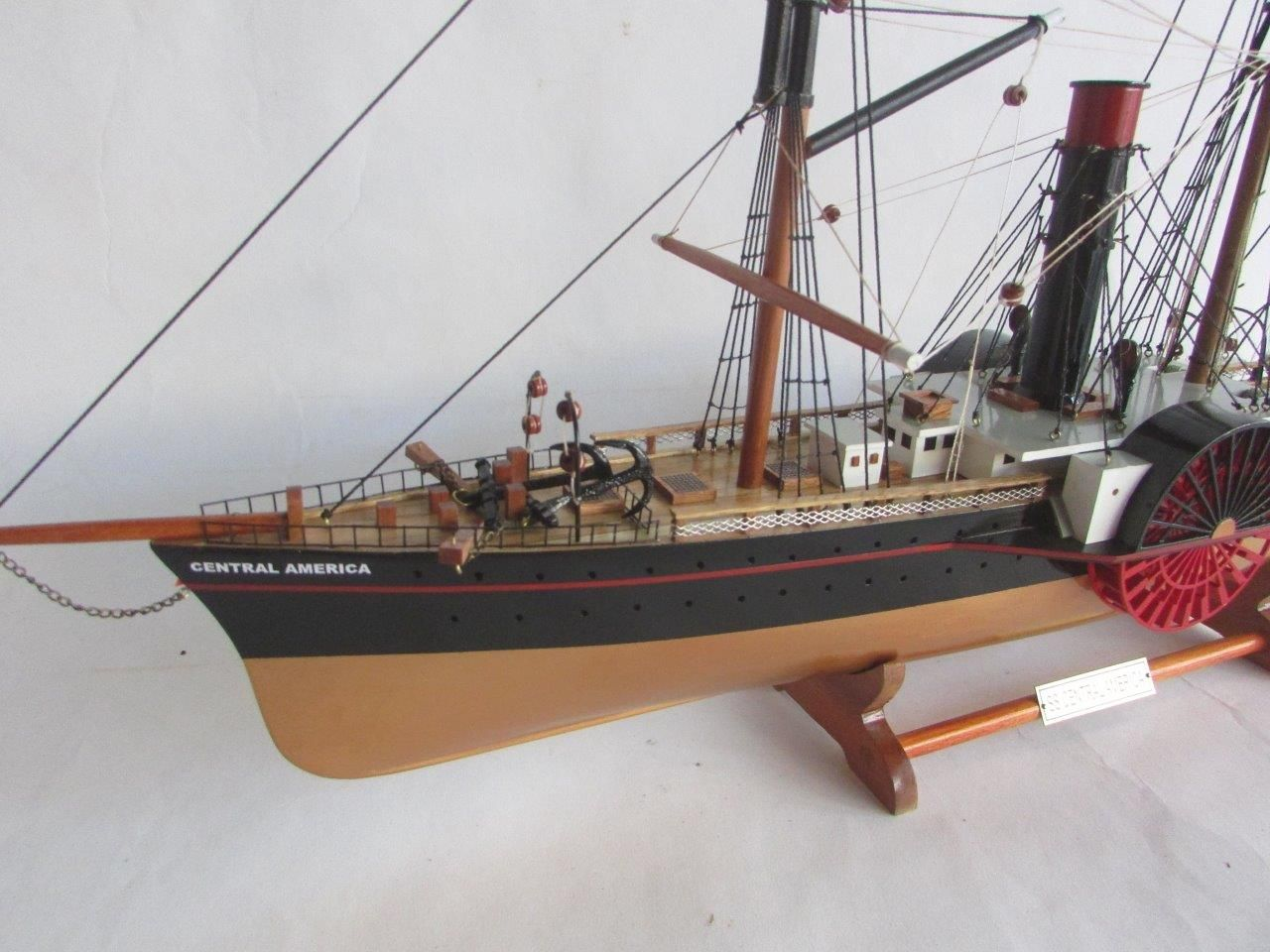 2053-13808-SS-Central-America-wooden-model-ship