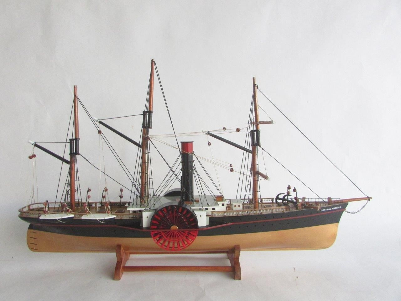 2053-13813-SS-Central-America-wooden-model-ship