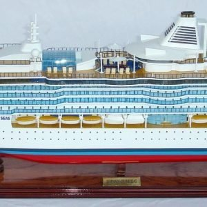 Serenade of the Seas Wooden Model Boat - GN (CS0015P)