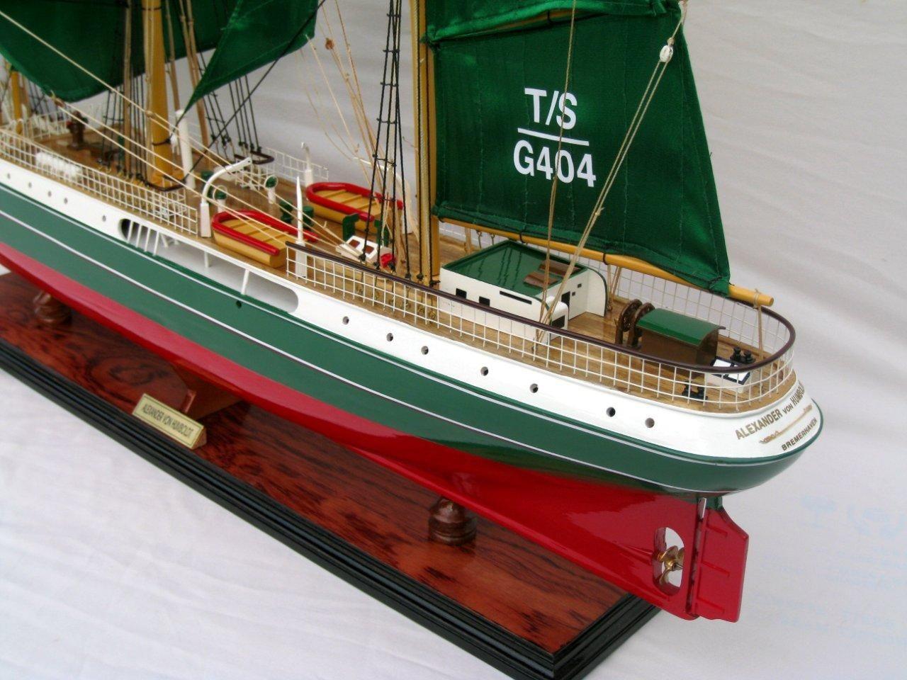 Alexander von Humboldt Model Ship - GN (TS0082P)