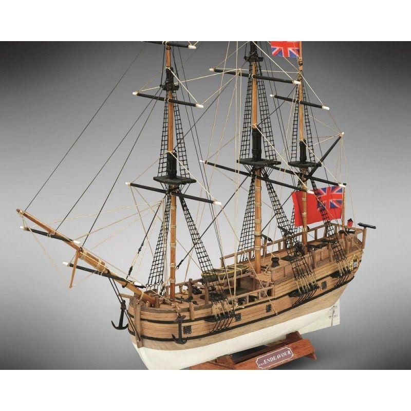 HMS Endeavour Ship Model Kit - Mini Mamoli (MM18)