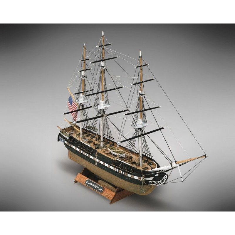 2111-12698-USS-Constitution-Model-Boat-Kit-Mini-Mamoli-MM64