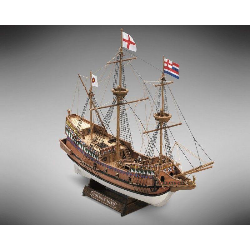 2112-12699-Golden-Hind-Model-Ship-Kit-Mini-Mamoli-MM71