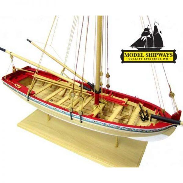 Longboat of the 18th Century Model Kit - Model Shipways (MS1457)